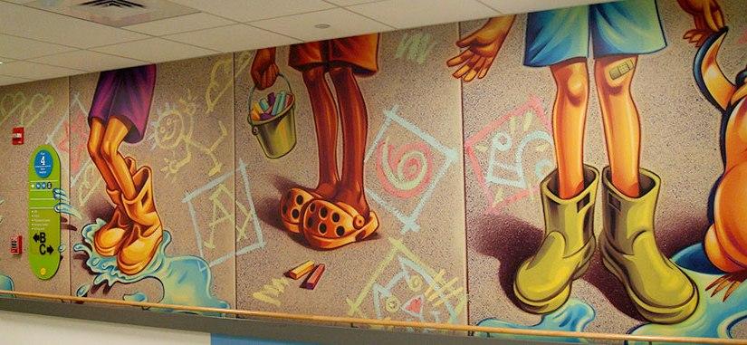 Crayon hospitals.