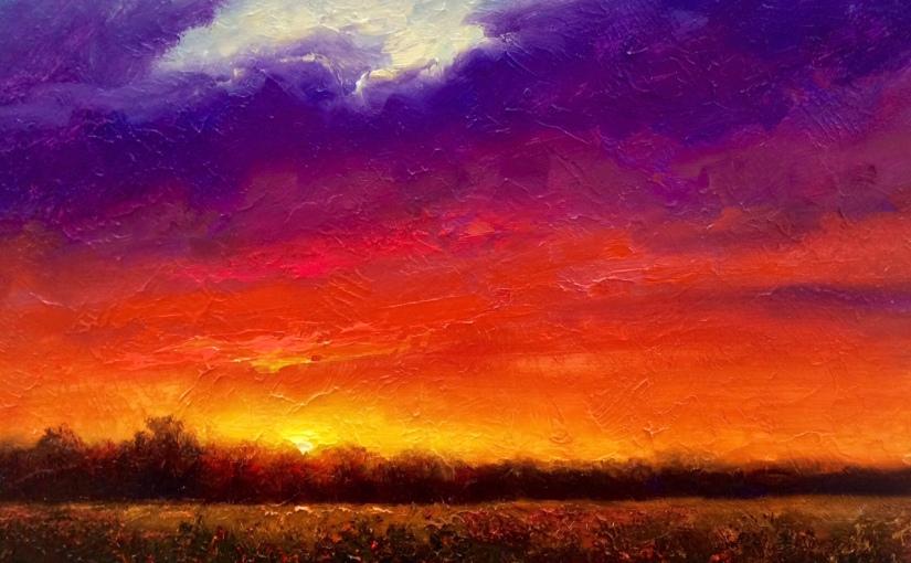 The last sunset.